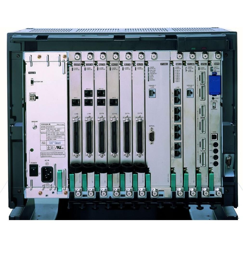 Tổng đài Analog Panasonic KX-TDA600 nâng cấp tối đa 960 trung kế & 1032 máy nhánh