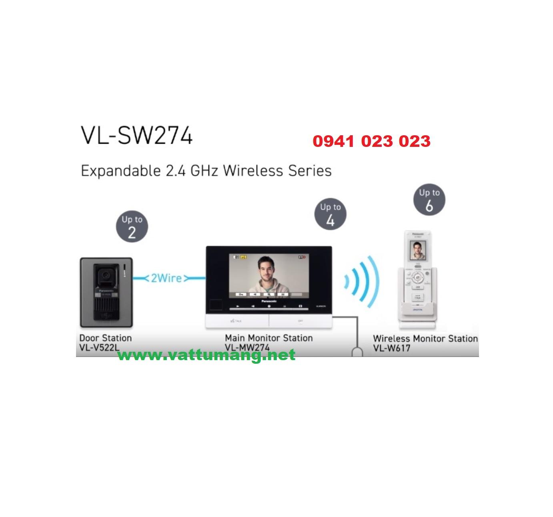 Chuông cửa màn hình màu 7 inch PANASONIC VL-SW274VN