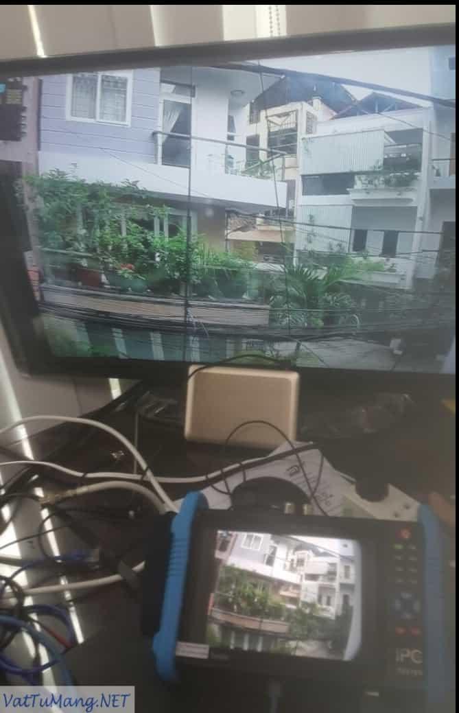 Bộ test camera cảm ứng 7″ IP/AHD/TVI/CVI 8.0MP HDMI input và ouput
