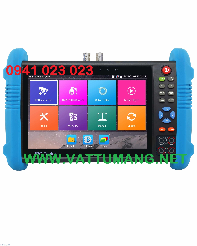 Máy test camera IP, AHD, TVI, CVI & Analog FLEXCOM FC-600C
