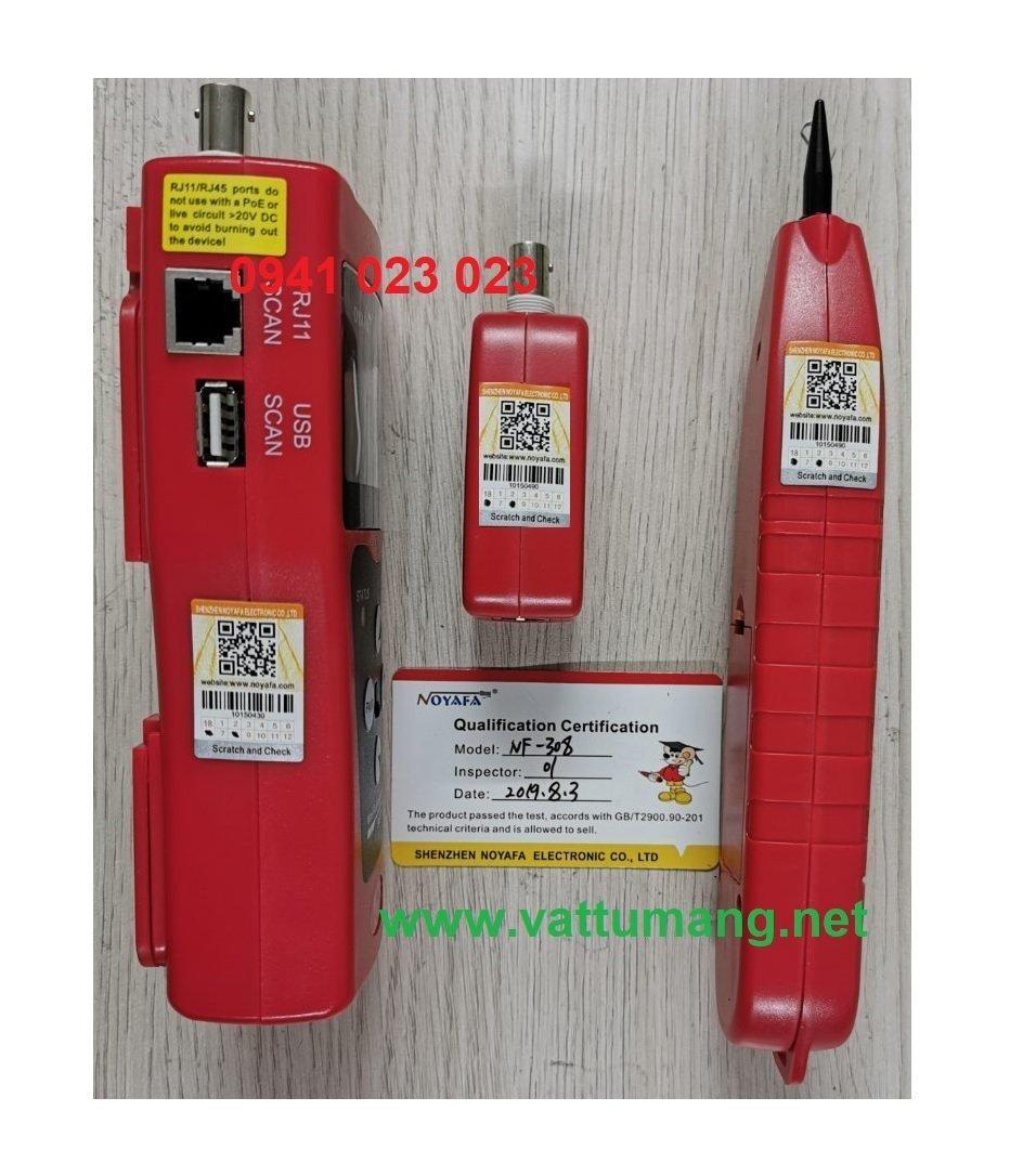 Máy test dây mạng đa năng NOYAFA NF-308
