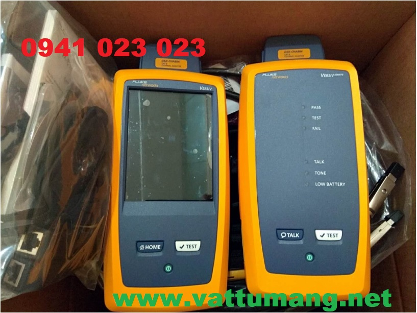 Máy test report băng thông cáp mạng FLUKE DSX-5000