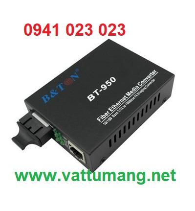 Converter Single mode 100MB, 1 sợi quang 25Km hãng BTON (BT-950SM-25A/B)