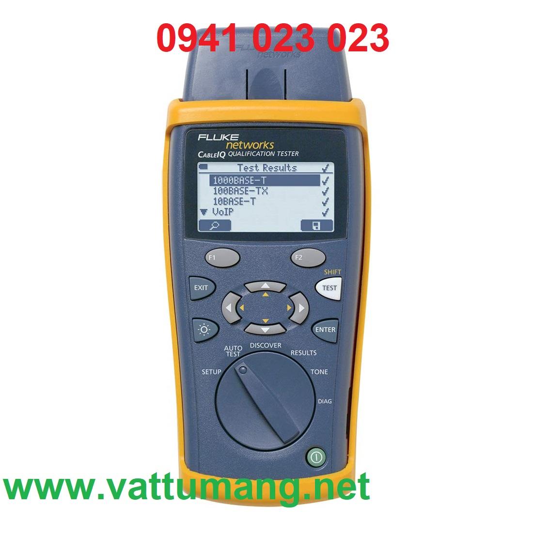 Máy test băng thông cáp mạng FLUKE CIQ-100