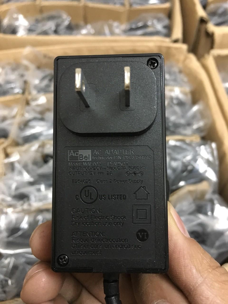 Adapter ACBEL 12V 2A chất lượng cao