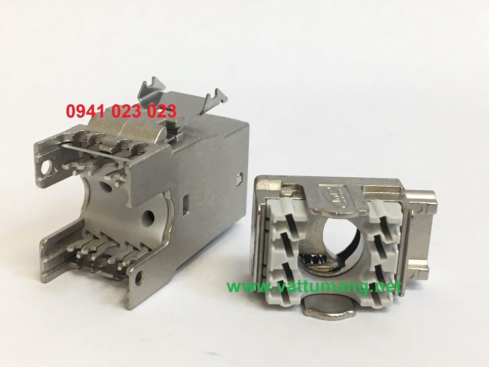 Modular jack Cat6A AMP/Commscope (2153449-4)