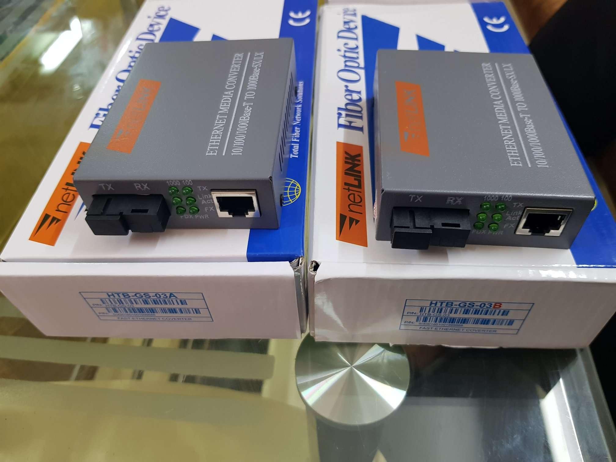 Bộ chuyển đổi quang điện netlink