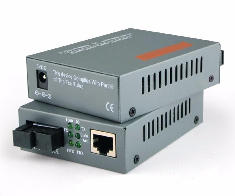 Converter quang giá rẻ 1,000mb (1gb) netLINK SM dùng 1 sợi 25km