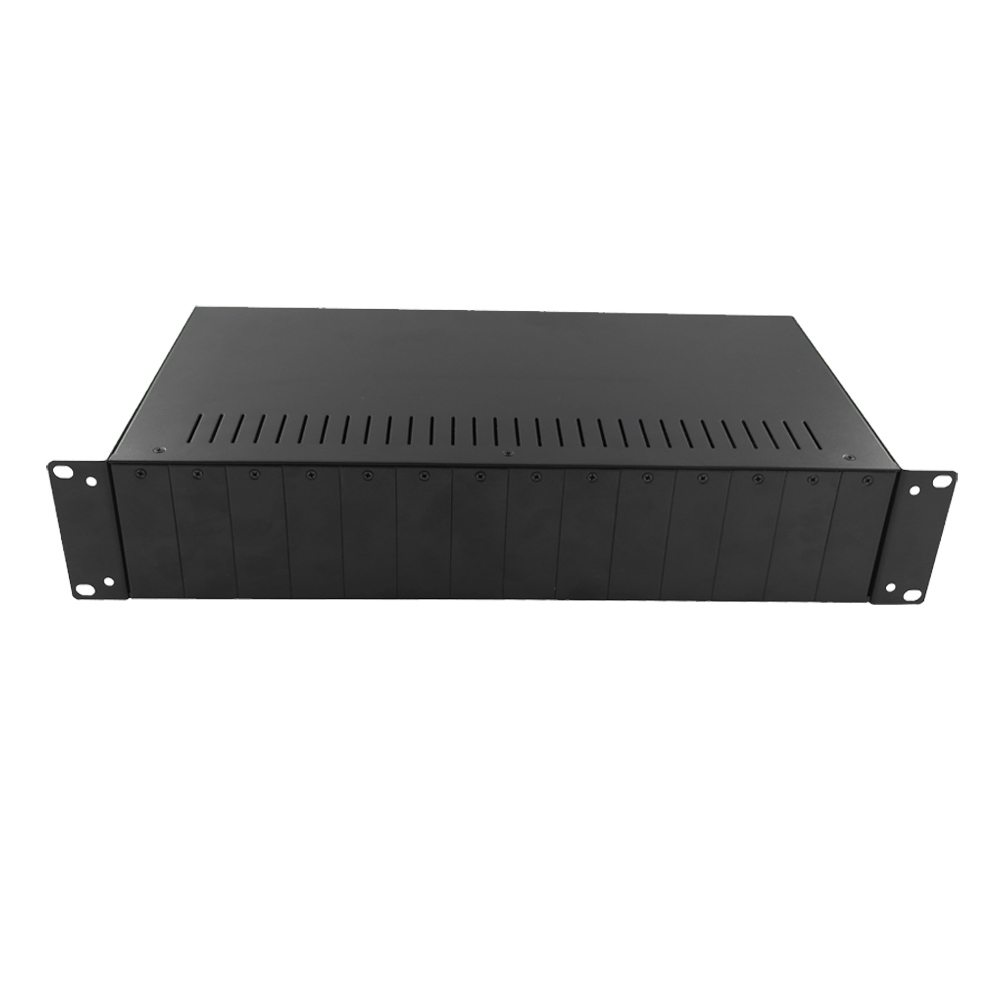 Khung bắt tủ Rack 19″ cho 14 cái media converter quang