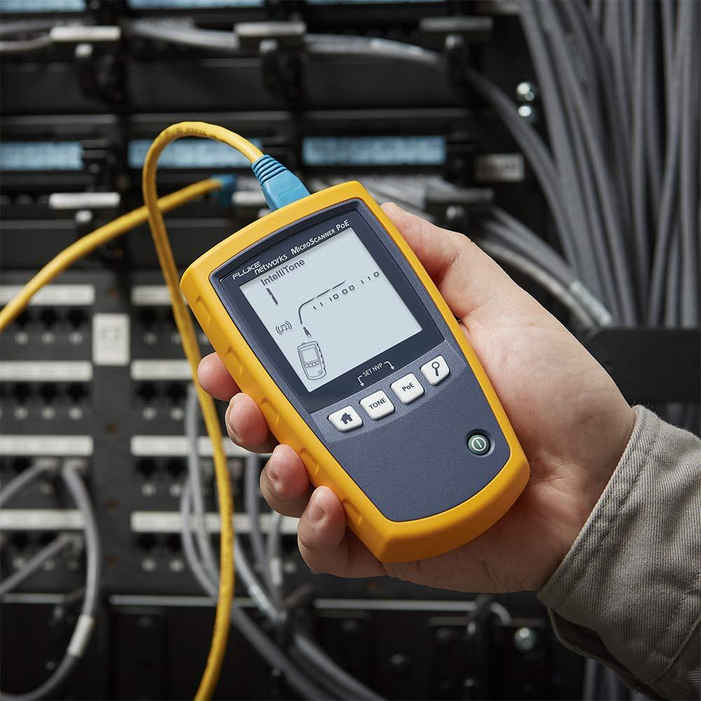 Máy test cáp mạng Fluke MicroScanner MS-POE