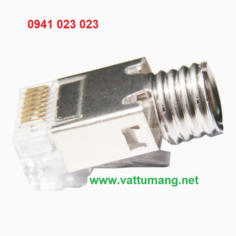 Đầu bấm mạng RJ45 cho cáp Cat6A AMP/Commscope 6-2111989-3